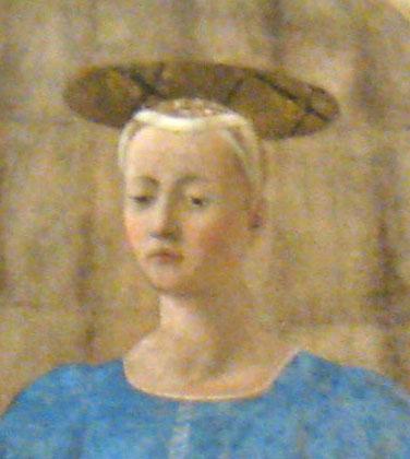 detail madonna del parto