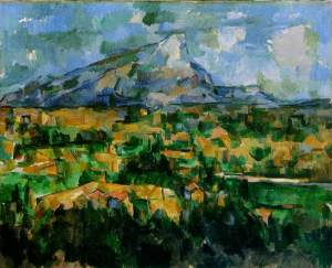Een getrouw beeld van de werkelijkheid (Paul Cezanne: Mont Saint Victoire)